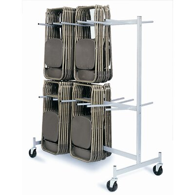 "Raymond Products 84"" Hanging Folded Chair Storage Truck"