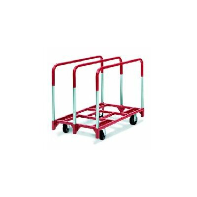 "Raymond Products Panel Mover 8"" Quiet Poly Casters, All Swivel, 3 Standard Uprights"