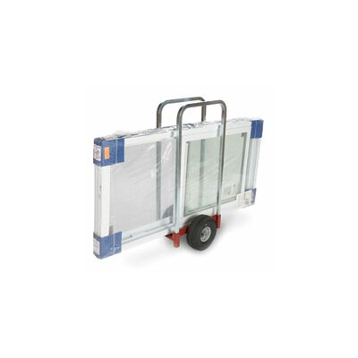 Raymond Products Heavy Duty Caddy Extra Wide with 2 Removable Uprights, Airless Wheels