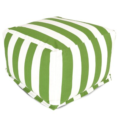 Majestic Home Products Striped Ottoman