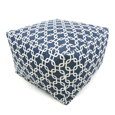 Majestic Home Products Links Bean Bag Ottoman