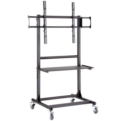 "Cotytech Adjustable Ergonomic Mobile TV Cart for 56"" - 70"""