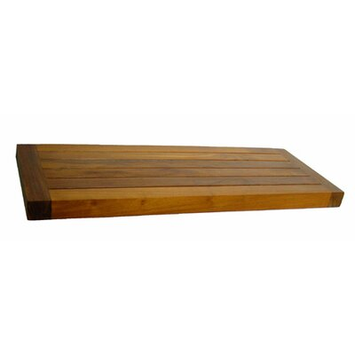 "Aqua Teak Spa Teak 24"" x 1.5"" Bathroom Shelf"