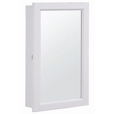 "Design House Concord 16"" x 26"" Surface Mount Medicine Cabinet"