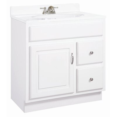 "Design House Concord 31"" Single Door Vanity Set"