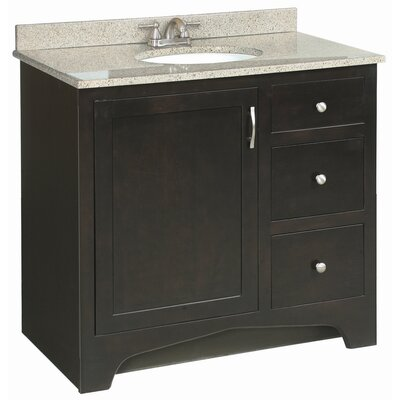 "Design House Ventura 37"" Single Door Vanity Set"