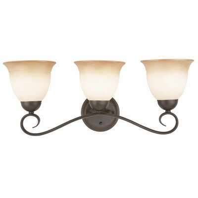 Design House Cameron 3 Light Bath Vanity Light