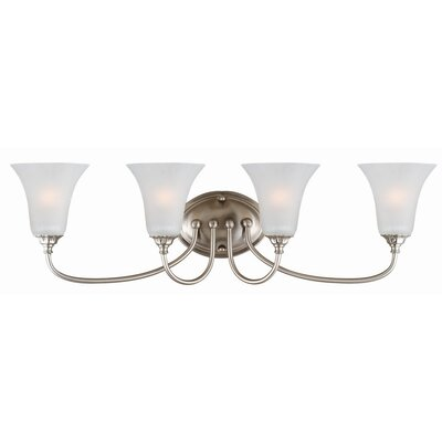 Design House Hyde 4 Light Bath Vanity Light