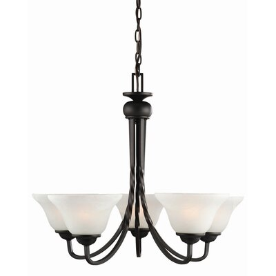 Design House Drake 5 Light Chandelier