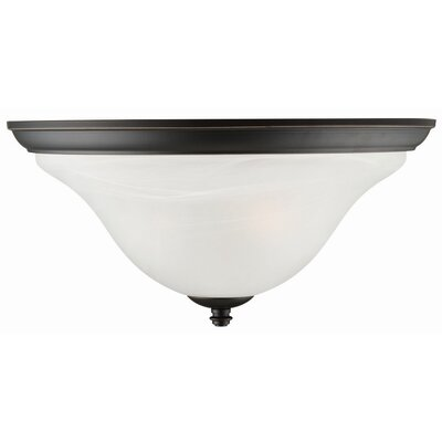 Design House Drake 2 Light Flush Mount
