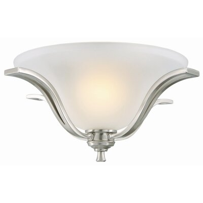 Design House Ironwood 2 Light Flush Mount