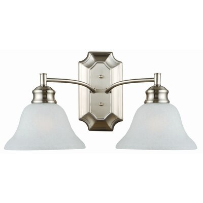 Design House Bristol 2 Light Bath Vanity Light