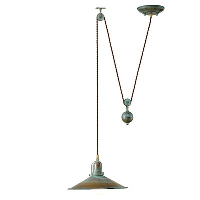 Rustic D''Avo 1 Light Large Pendant