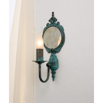 Crystorama Bethany Wall Candle Sconce in Etruscan Gold | Wayfair