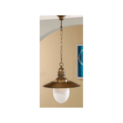 Lustrarte Lighting Nautic Ancora 1 Light Pendant