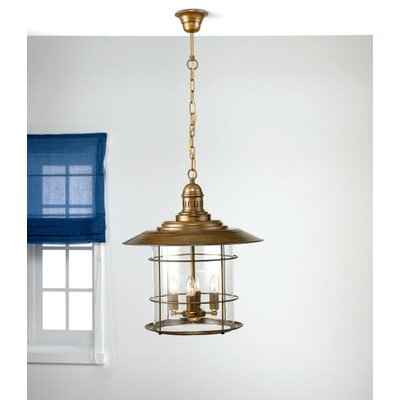 Lustrarte Lighting Nautic Ancora 4 Light Pendant