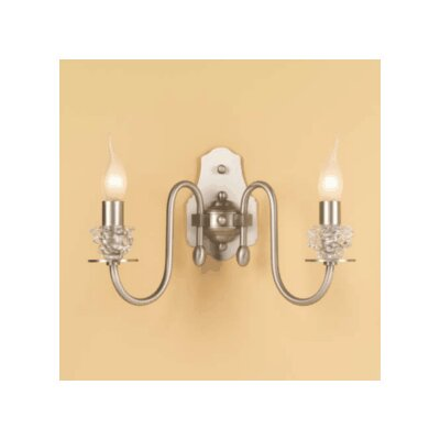 Lustrarte Lighting Classic Class 2 Light Wall Sconce