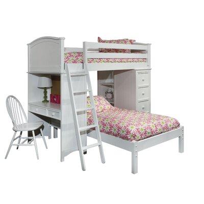 Cooley Sleep Study Storage Loft Bed
