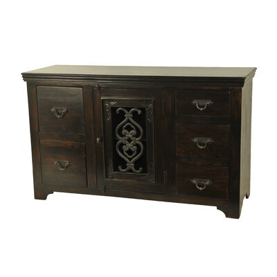MOTI Furniture Mirage 5 Drawer Combo Dresser