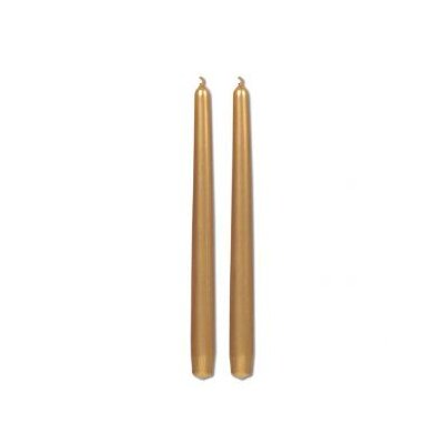 "Light In the Dark 10"" Tall Taper Candles (Set of 2)"