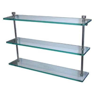 Universal Triple Bathroom Shelf