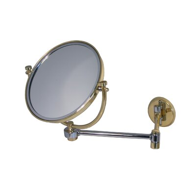 "Allied Brass Universal 8"" Wall Mirror Extends 14"""
