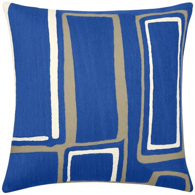 Judy Ross Procession Wool Pillow