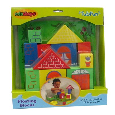 edushape Floating Toy Blocks Bath Toy
