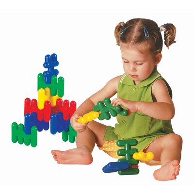 edushape Criss Cross Building Set