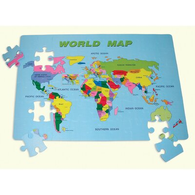 edushape World Map Floor Puzzle