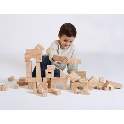 Wood-Like Soft Toy Blocks