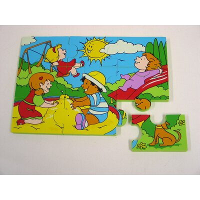 edushape Jungle and Park Foam Jigsaw Puzzle Set