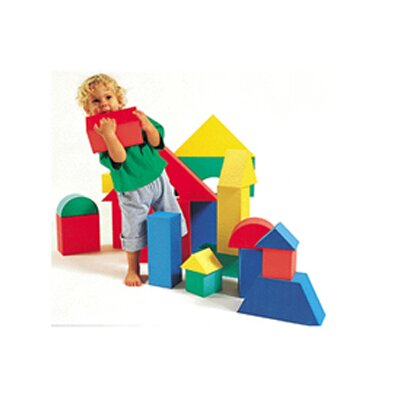 edushape Giant Blocks 32/pk 4-1/3 Thick