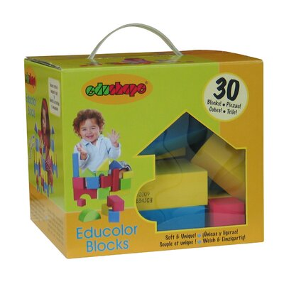edushape Educolor Toy Blocks Set