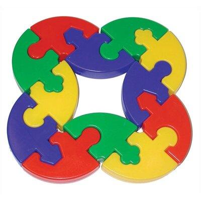 edushape Puzzle Pie Building Set