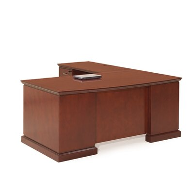 devon l shaped executive desk wayfair supply