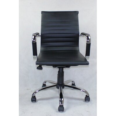 Winport Industries WIinport Mid-Back Executive Swivel Office Chair