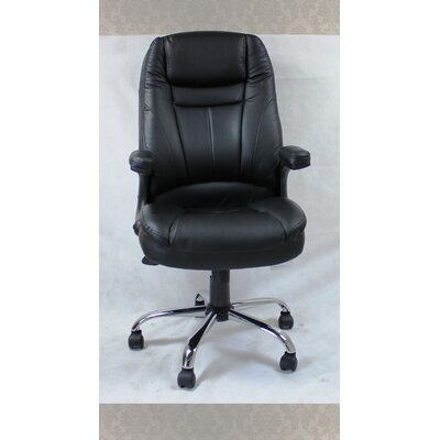 Winport Industries 8Winport Pleated High-Back Office Chair