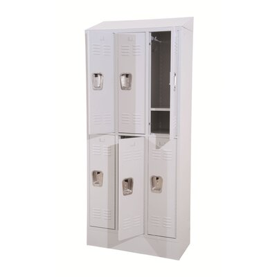 Winport Industries Morgan Wide Double Tier Locker
