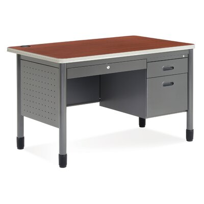 OFM Executive Series Teacher's Computer Desk with Center Drawer