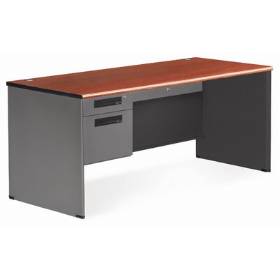 OFM Mesa Series Secretarial Panel End Computer Desk