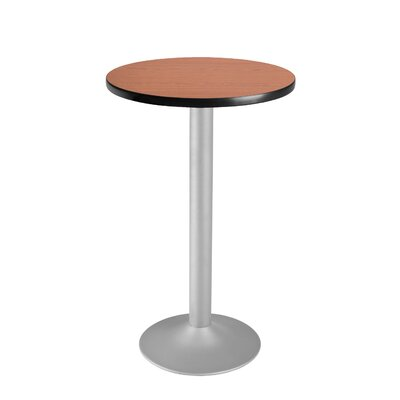 "OFM Cafe 41.5"" x 24"" Round Folding Table"