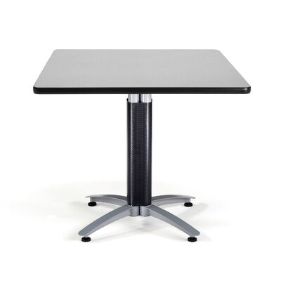 "OFM Multi-use 29.5"" x 36"" Square Table with Mesh Base"