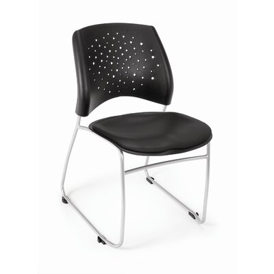 OFM Star Stack Chair Vinyl Seat