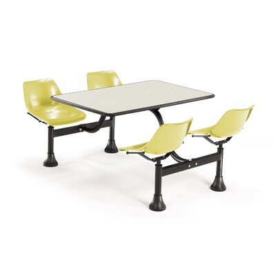 "OFM 30"" x 48"" Group/Cluster Table and Chairs with Laminate Tops"