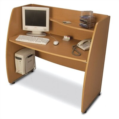 OFM Privacy Computer Desk