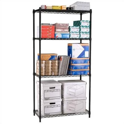 OFM Heavy Duty 4 Shelf Storage Unit