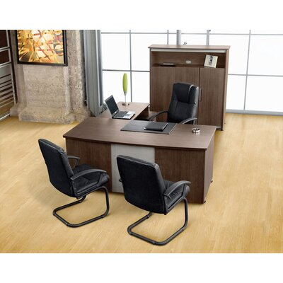 OFM Milano L-Shape Desk Office Suite