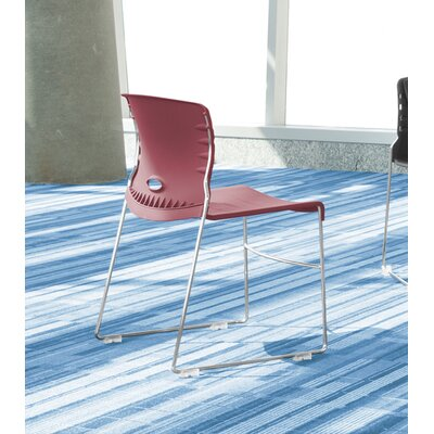 OFM Anti-Microbial/Anti-Bacterial Vinyl Seat and Back Stack Chair