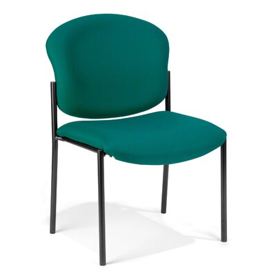 OFM Anti-bacterial / Anti-microbial Vinyl Armless Stacking Chair